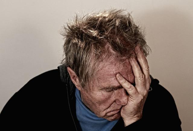 דכאון וחרדה כתוצאה מהתמכרות (אילוסטרציה)